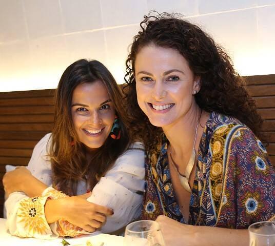 Bruna Werther e Maria Fernando Scardino