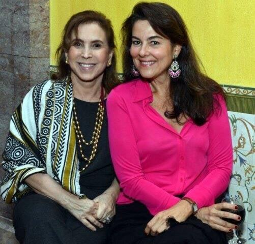 Beth Vianna Pinto e Loretta Gama