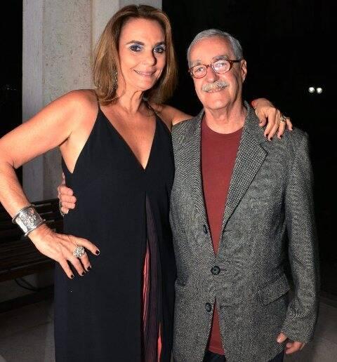 Patrícia Secco e Luiz Carlos Lacerda Bigode