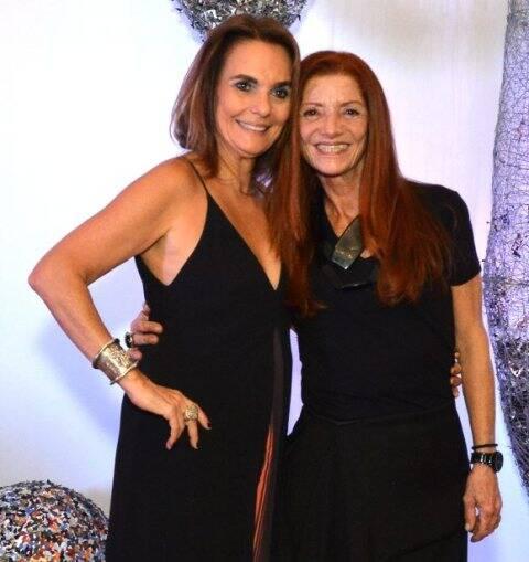 Patrícia Secco e Teresa Freire