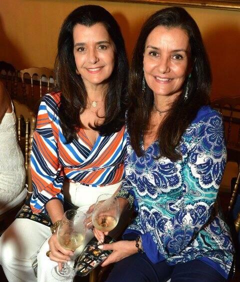 As irmãs Andréa Tupinambá e Luciana Tostes