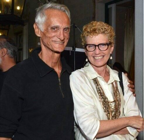 Carlos Augusto d'Aguiar e Janine Bressane