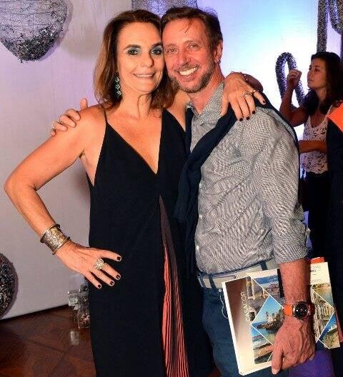 Patrícia Secco e Nando Grabowsky