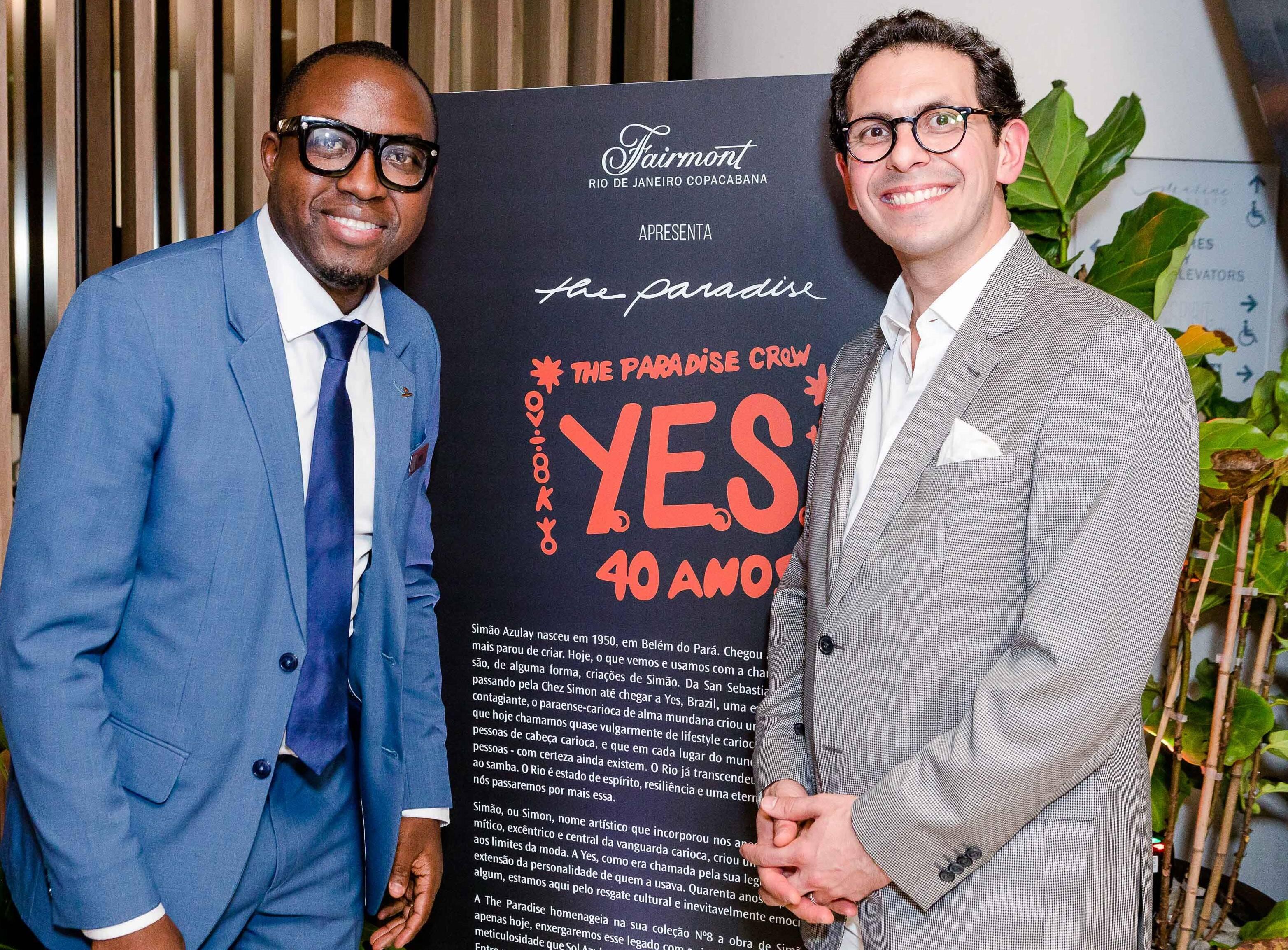 Erveh Boyomo e Netto Moreira /Foto: Bruno Ryfer