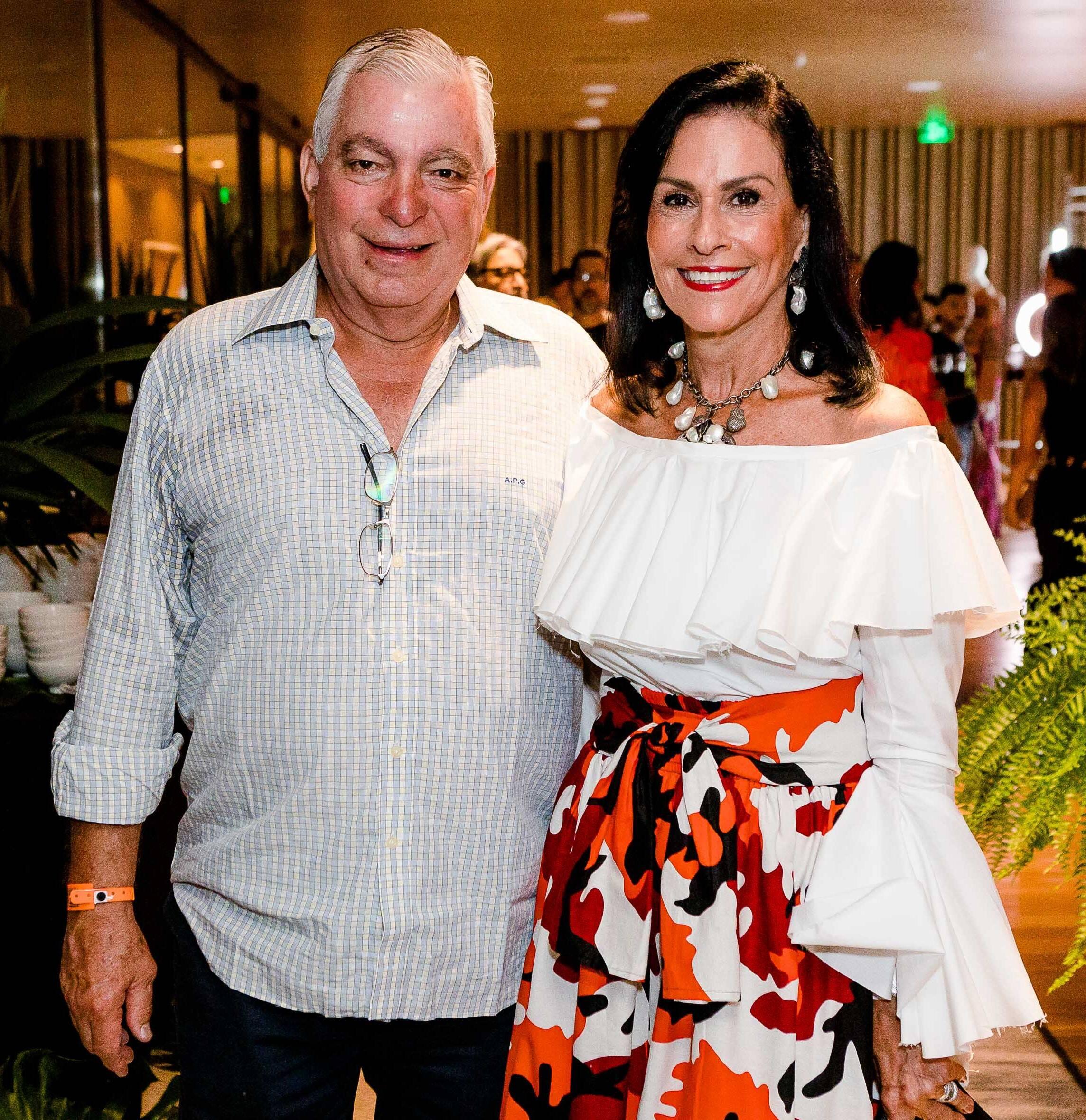 Beth e Afonso Pinto Guimarães /Foto: Bruno Ryfer