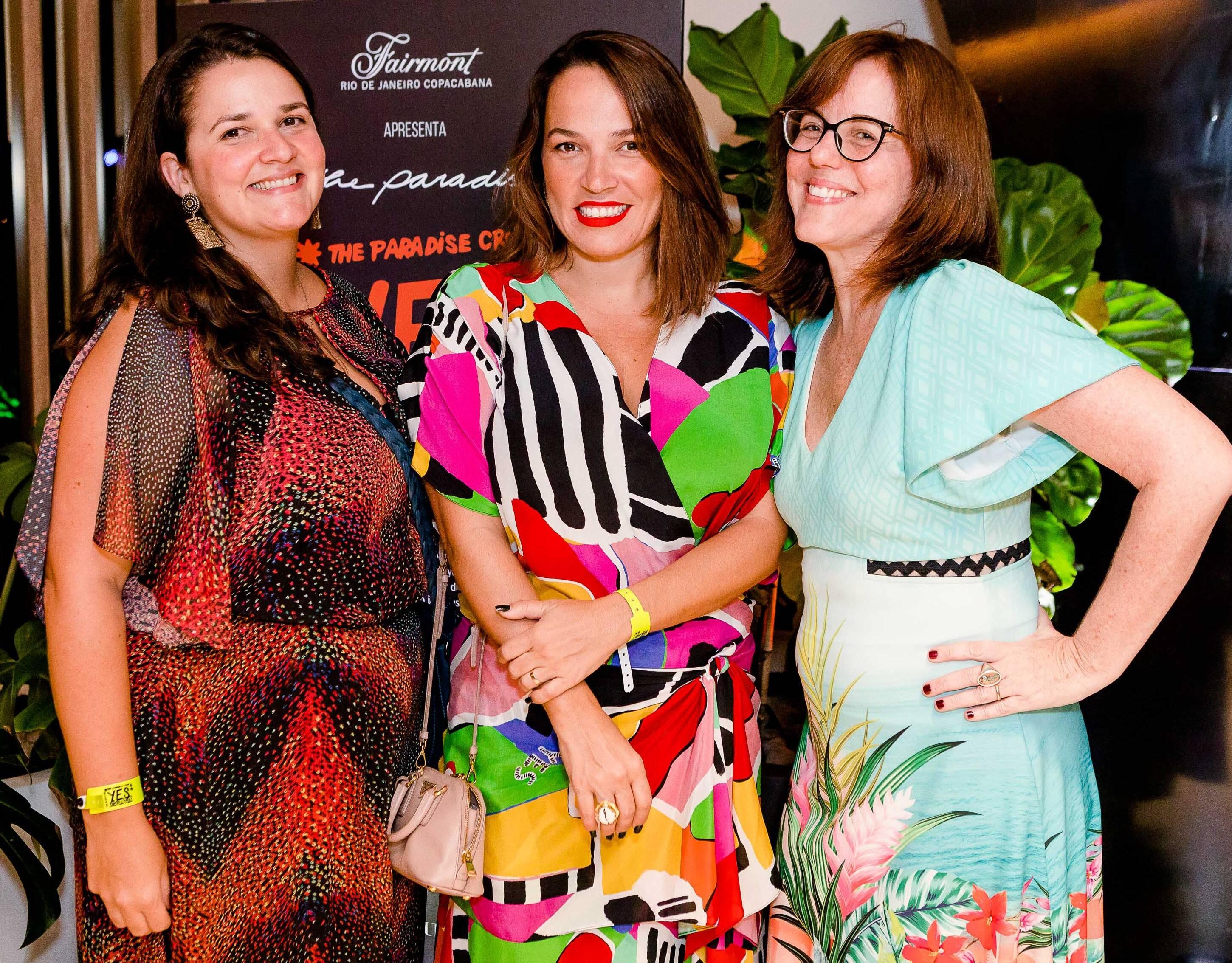Joana Dale, Marina Caruso e Marcia Disitzer /Foto: Bruno Ryfer