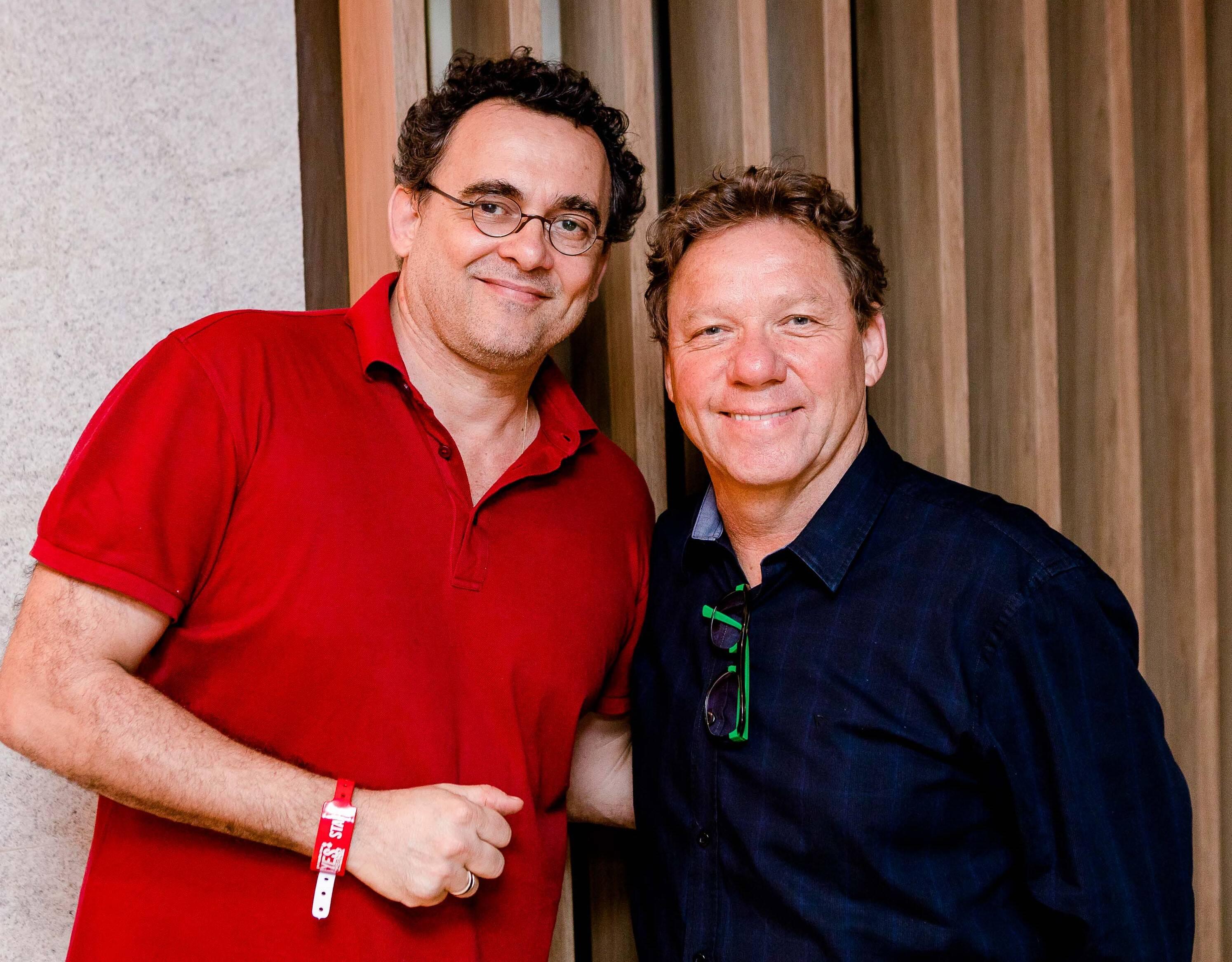 Maneco Quinderé e Claude Troisgros /Foto: Bruno Ryfer