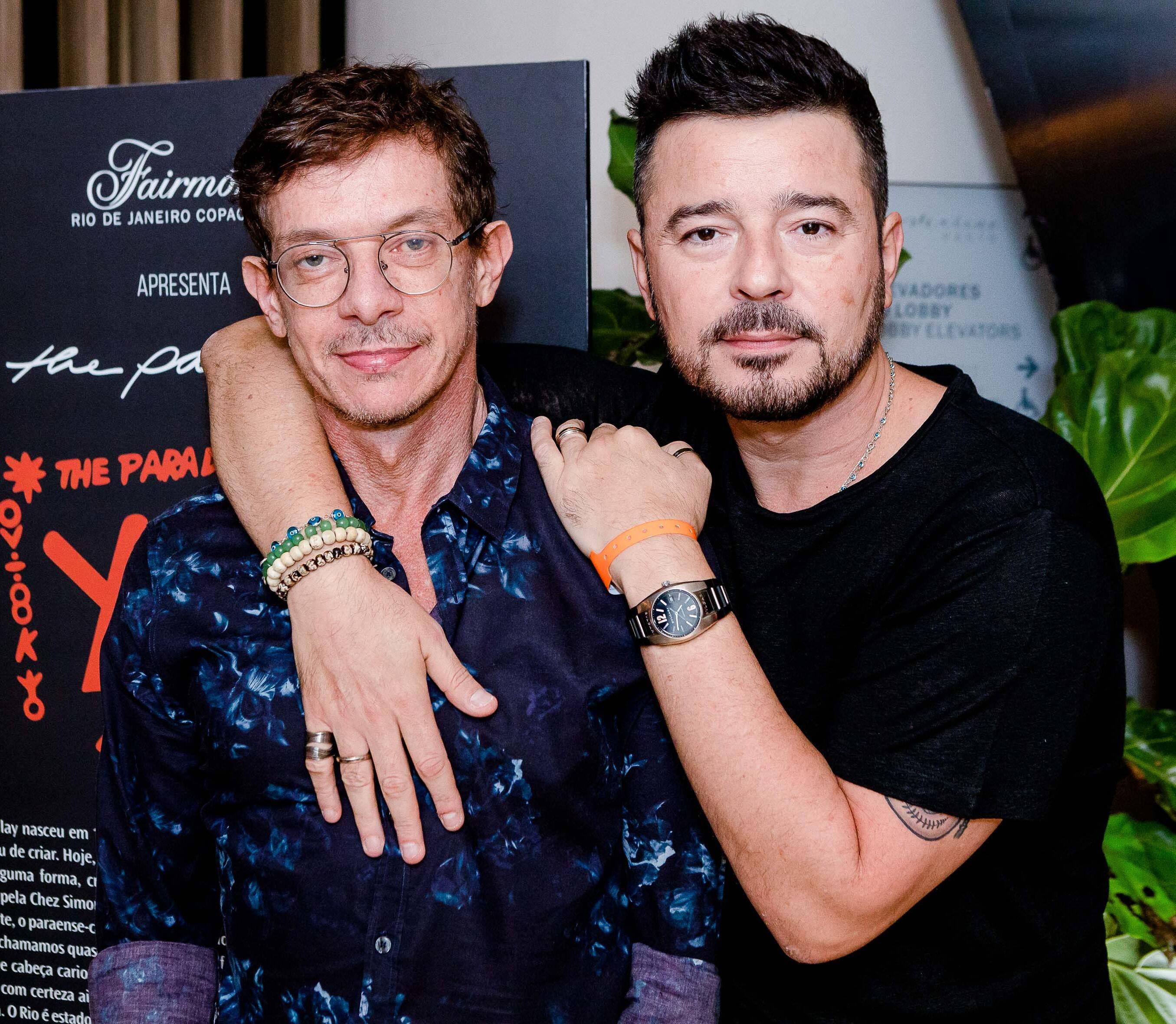 André Piva e Carlos Tufvesson /Foto: Bruno Ryfer