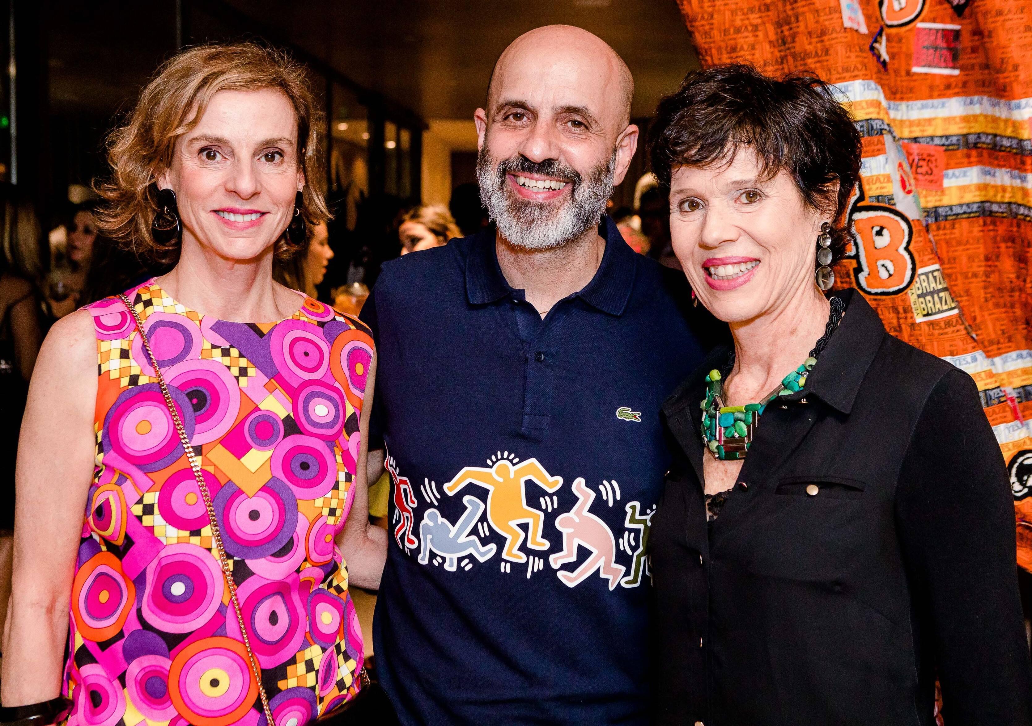Patricia Veiga, Claudio Gomes e Zizi Ribeiro /Foto: Bruno Ryfer
