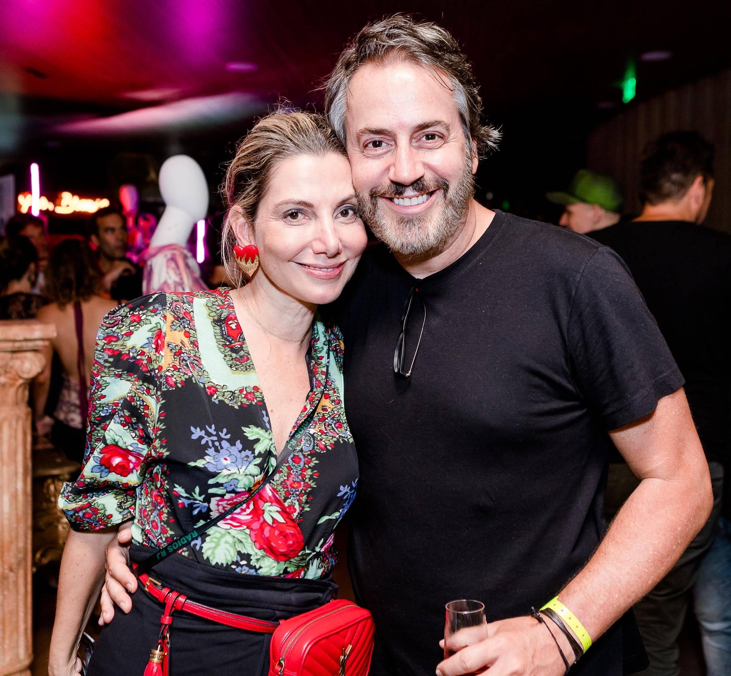 Renata Reis e Sergio Conde Caldas /Foto: Bruno Ryfer