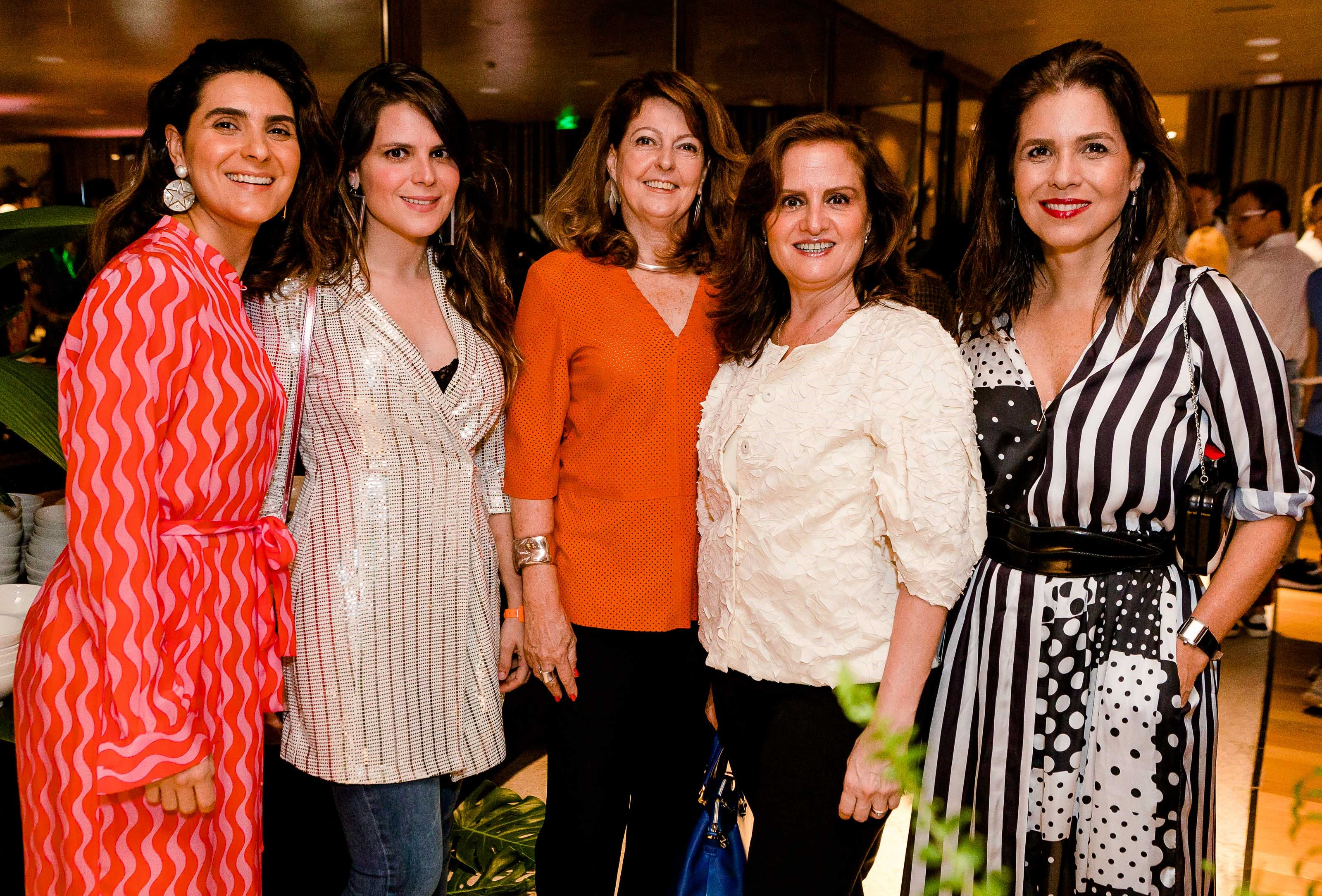 Roberta do Rio, Paloma Danemberg, Mariangela Danemberg, Katia Danemberg e Angela Hall /Foto: Bruno Ryfer