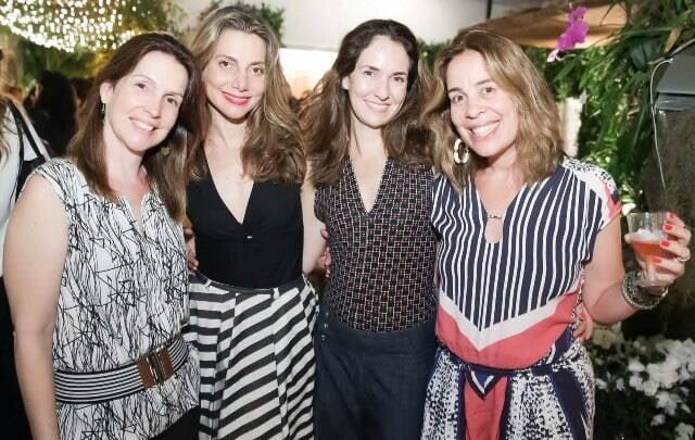 Ana Madalena Alvim, Renata Reis, Andreia Calderari e Mariana Lobo