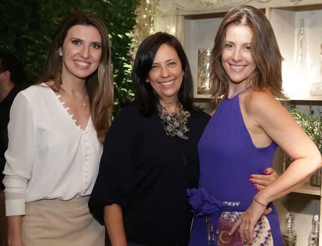 Constance Zahn, Christiane Lacalu e Daniela Bechara