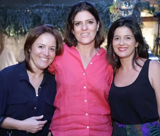 Cristina Pestana, Mariana Vidal e  Carolina Antunes