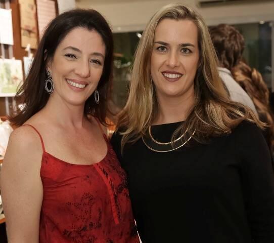 Flávia Annunziato e Lela Dias