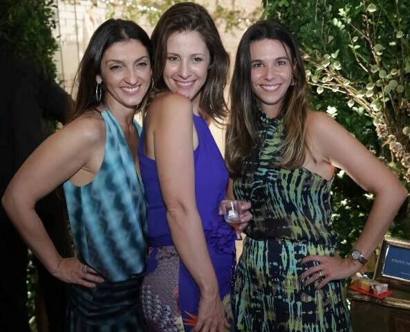 Letícia Carvalho, Daniela Bechara e Juliana Piquet