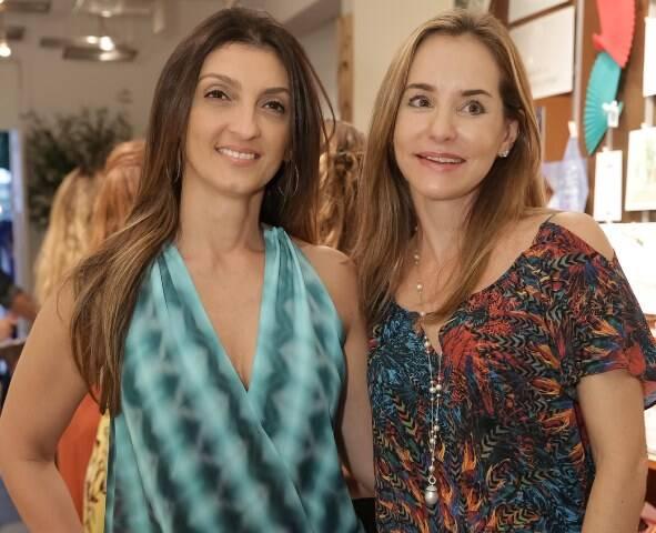 Letícia Carvalho e Andréa Brentar