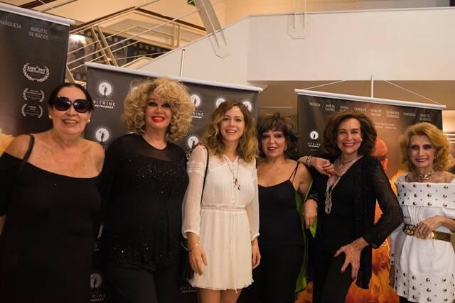 Eloína dos Leopardos, Jane Di Castro, Leandra Leal, Camille K, Divina Valéria e Brigitte de Búzios
