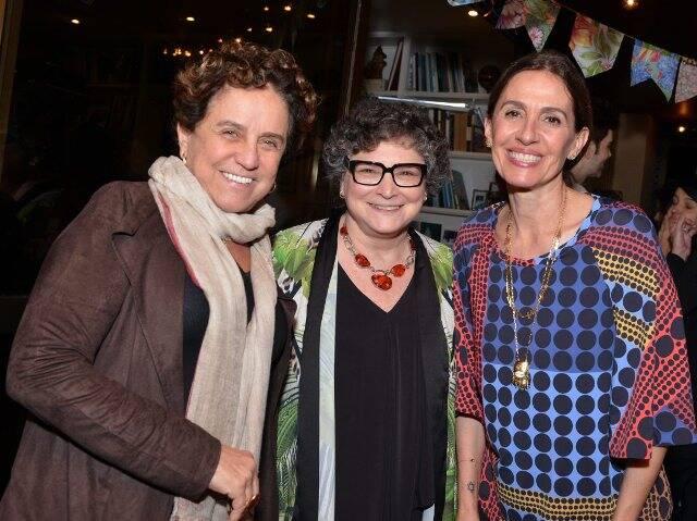 Leticia Muhama, Cora Ronai e Flora Gil