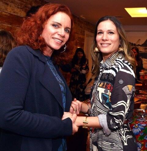 Leilane Neubarth e Marianna Brennand