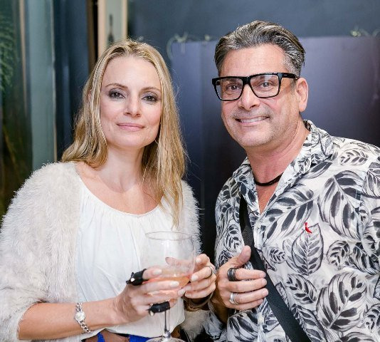Cynthia Hanning e Marcelo Novaes