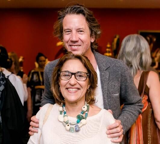 Mônica Carvalho e Gwenael Allan