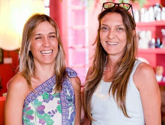 Carmen Fraga e Cristiana Drummond