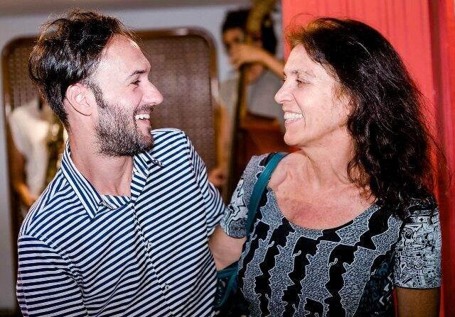 Filipe Sartori e Dominique Jardy