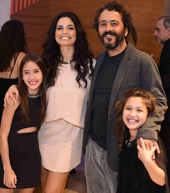 Duda Batsow, Emanuelle Araújo, Marcos Palmeira e Giovanna Estefanio
