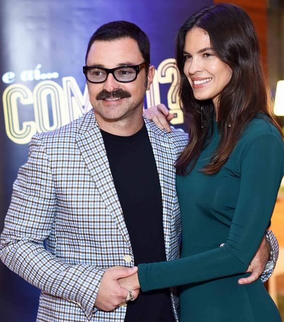 Emílio Orciollo Netto e Mariana Barreto