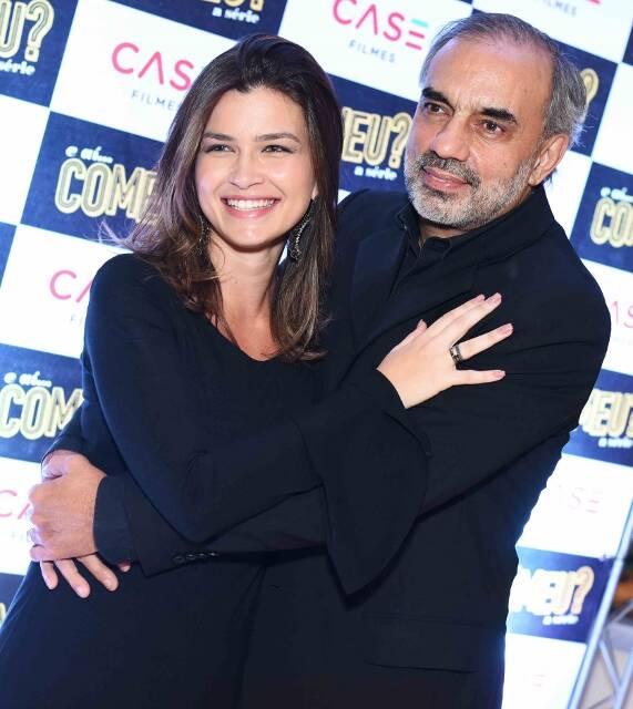 Mariana Muniz e Augusto Casé
