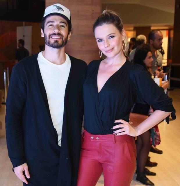 Paulo Leal e Graziella Schmitt