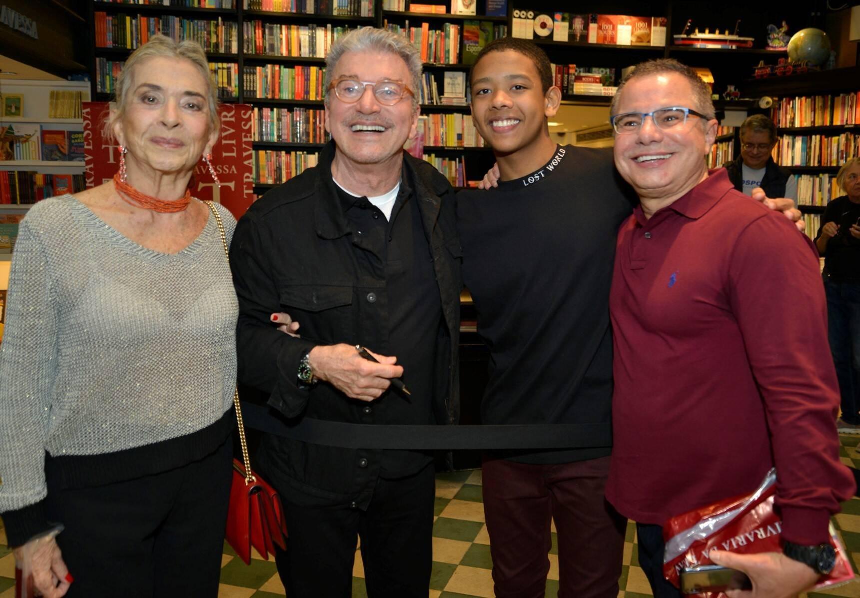Betty Faria, João Gabriel D'aleluia e Ricardo Linhares /Foto: J Egberto