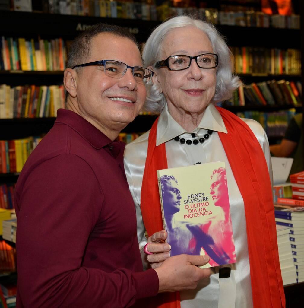 Ricardo Linhares e Fernanda Montenegro /Foto: J Egberto