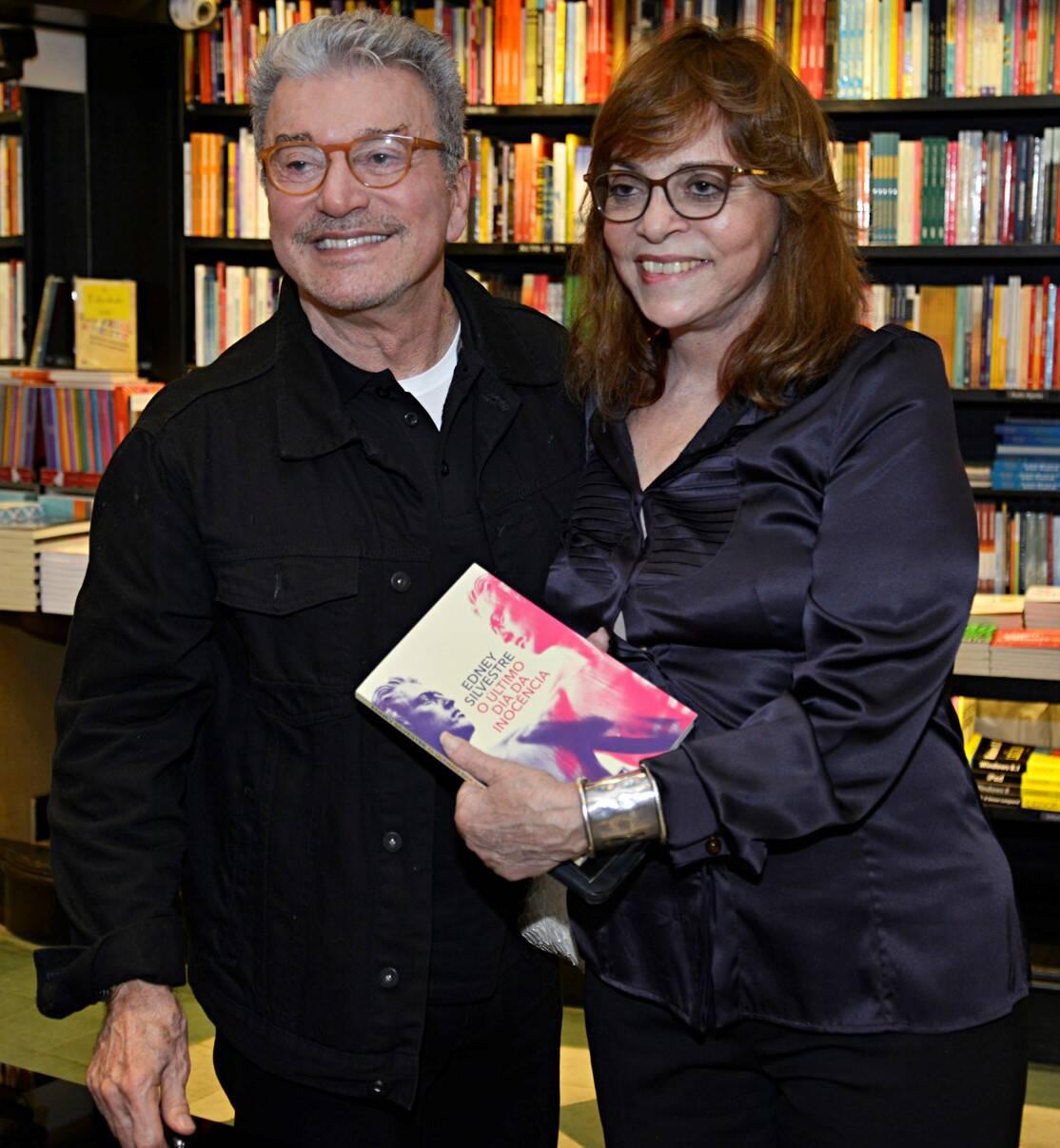 Edney Silvestre e Glória Perez  /Foto: J Egberto