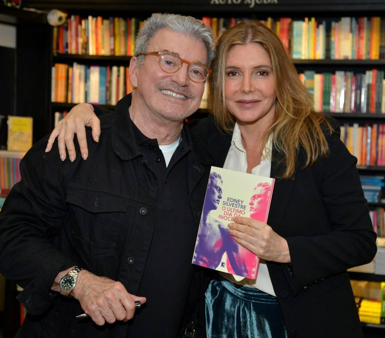 Edney Silvestre e Maria Padilha /Foto: J Egberto
