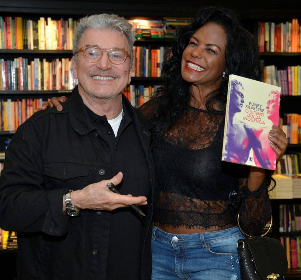 Edney Silvestre e Selminha Sorriso /Foto: J Egberto