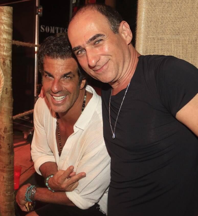 Álvaro Garnero e Amir Slama