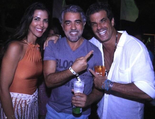 Carolina Cunha Guedes, Rogério Saladino e Álvaro Garnero