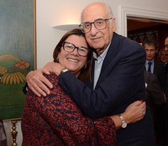 Andrea Pachá e Zuenir Ventura