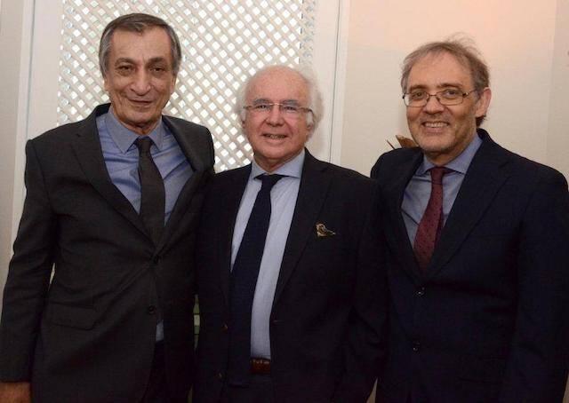 Antônio Cícero, Joaquim Falcão e Marco Lucchesi