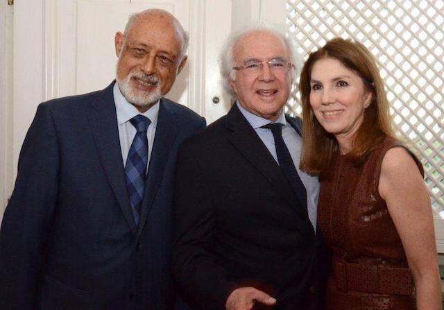 Domício Proença Filho, Joaquim e Viviane Falcão