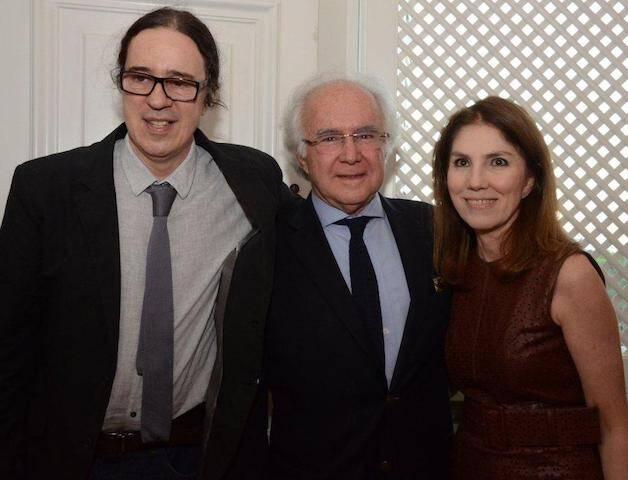 Geraldo Carneiro, Joaquim e Viviane Falcão