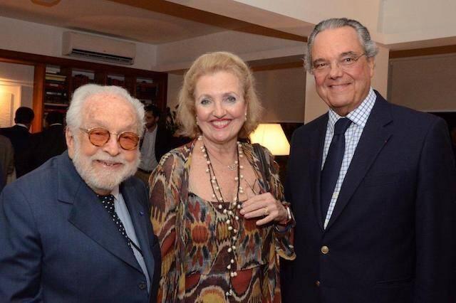 Jorge Hue, Cristina e Eduardo Eugênio Gouvea Vieira