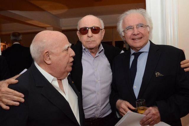 Marcos Azambuja, Armando Strozenberg e Joaquim Falcão