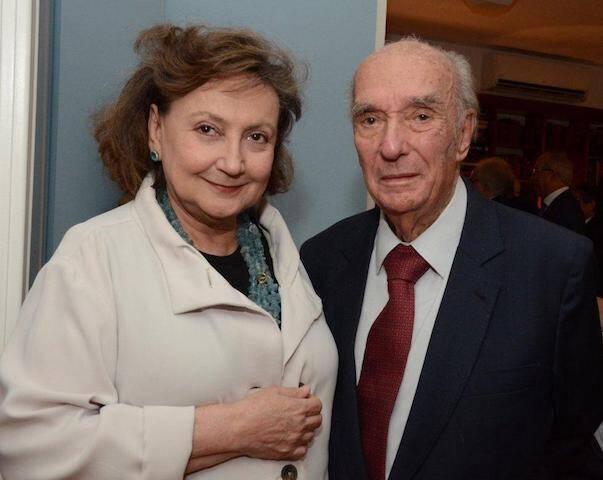 Margareth Dalcomo e Cândido Mendes de Almeida