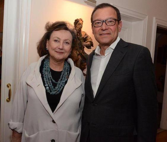 Margareth Dalcomo e Paulo Niemeyer