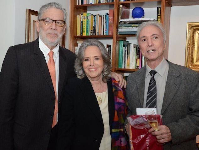 Miguel e Rosiska Darcy de Oliveira e Carlos Secchin