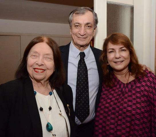 Nélida Piñon, Antonio Cicero e Bia Corrêa do Lago
