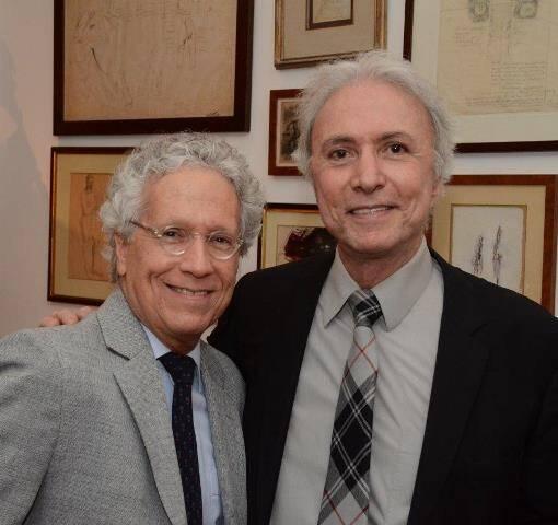 Sergio Fonte e Antônio Carlos Secchin
